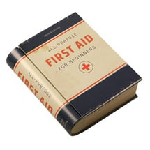 Clever Kits in Little Book-Shaped Tins - First Aid