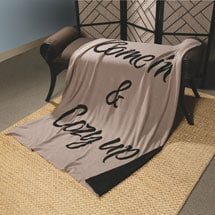 Come In and Cozy Up Cotton Throw