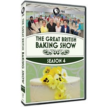 The Great British Baking Show Season 4 DVD