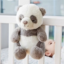 Peaceful Panda and Sunshine Owl Baby Sound Soothers