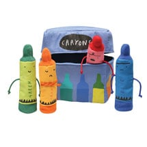 The Day the Crayons Quit Finger Puppets
