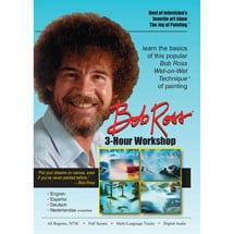Bob Ross Joy of Painting Series: 3-Hour Workshop DVD