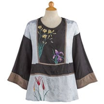 Flora Embroidered Top