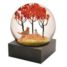 Autumn Pals Snow Globe