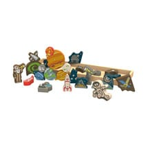 Space from A to Z Puzzle Play Set