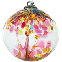 Tree of Motherhood Glass Orbs