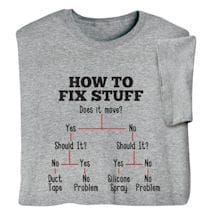 How to Fix Stuff Shirts
