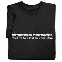 Time Travel Shirts