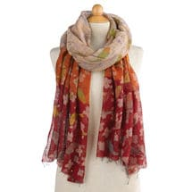 Birds and Blossoms Scarf