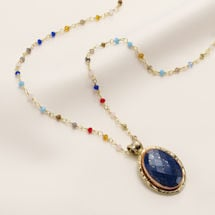 Lavish Lapis Necklace