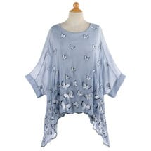 Cloud of Butterflies Two-Piece Top