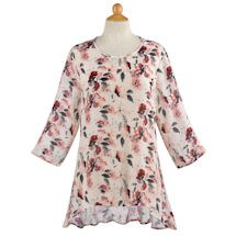 Watercolor Flowers Tunic