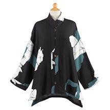 Noir Batik Tunic