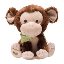 My Monkey Marvin Animated Plush