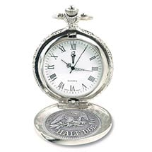 Seated Liberty Silver Half Dollar Pocket Watch