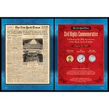 """New York Times Martin Luther King """"I Have A Dream"""" Speech Collection"""