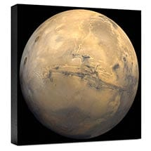 Hubble Image Canvas Print: Mars
