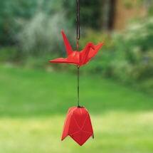 Origami Crane Wind Bell