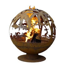 Tropical Fire Globe