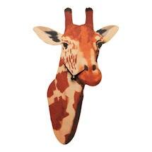 Giraffe Head Wall Clock