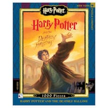 Harry Potter Deathly Halllows Book Cover 1000 pc Puzzle