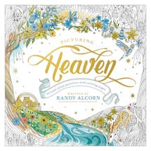 Picturing Heaven Devotions & Coloring Book