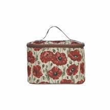 Poppy Tapestry Toiletry Bag