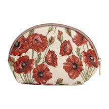 Poppy Tapestry Cosmetic Case