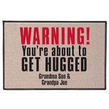 You're About to Get Hugged Doormat - Personalized