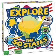 Explore the 50 States Game