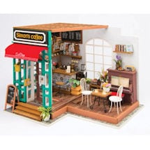DIY Miniature Coffee Shop Kit