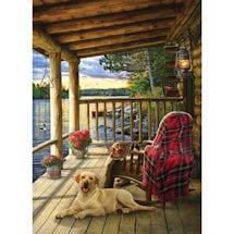 Cabin Porch 1000 Piece Jigsaw Puzzle