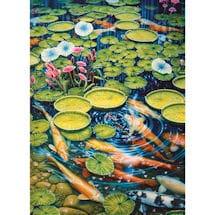Koi Pond 1000 Piece Jigsaw Puzzle