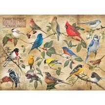 Popular Backyard Wild Birds of North America 1000 Piece Jigsaw Puzzle