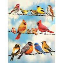 Birds on a Wire 500 Piece Jigsaw Puzzle