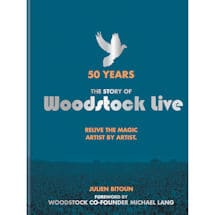 Woodstock Live Book by Julien Bitoun