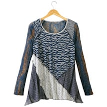 Blue Medley Tunic Top