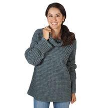 Arran Cowlneck Sweater