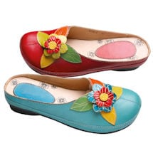 Leather Braga Clogs