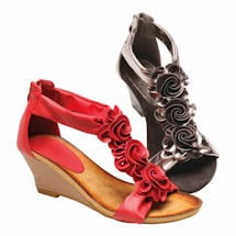 Harlequin Evening Sandal