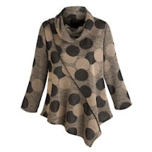 Daring Dots Tunic Top