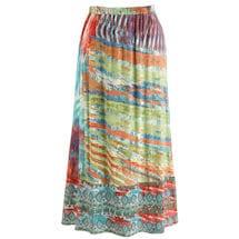 Landscape Of Color Skirt