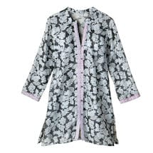 Evening Shade Button-Front Sleepshirt