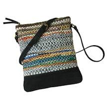 Prairie Stripe Crossbody Bag
