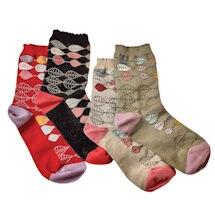 Aspen Leaves Socks