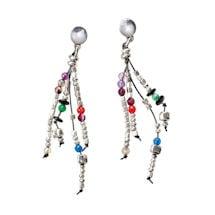 Dancing Beads Post Earrings