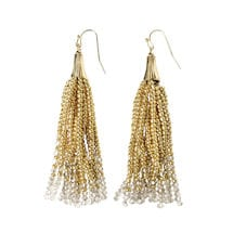 Beaded Tassels Earrings