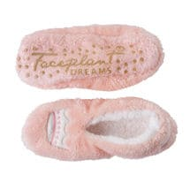 Lush Plush Footie Slippers - Queen