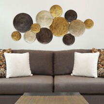 Multi Circles Wall Sculpture