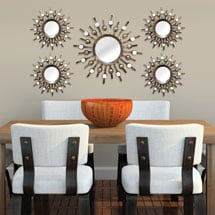 Burst Mirrors - Set of 5